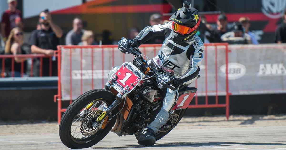 Super Hooligans race flat track in first ever Nitro World Games event in Utah